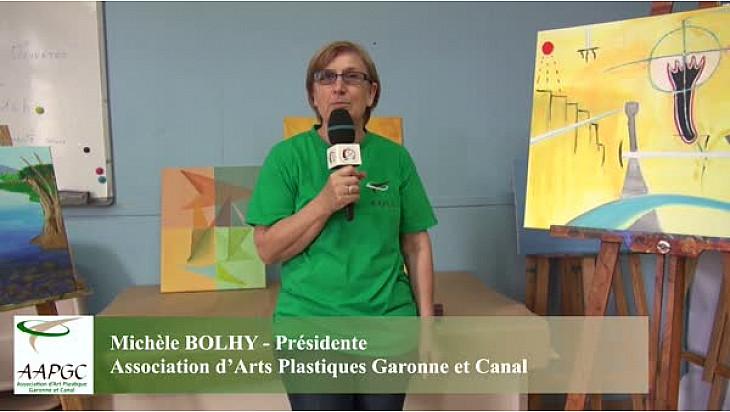 A la rencontre de l'association d'Arts Plastiques Garonne et Canal