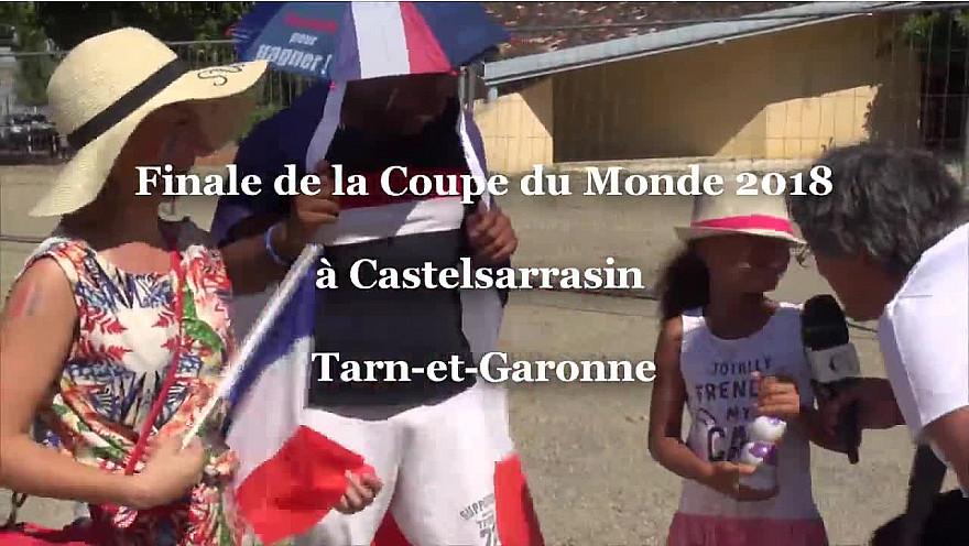 La France Champions du Monde 2018: FanZone à Castelsarrasin le 15 juillet 2018